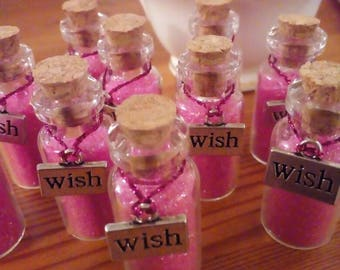 Fairy Dust! Bottle of Pink Fairy Dust/Jar of Tooth Fairy Dust.
