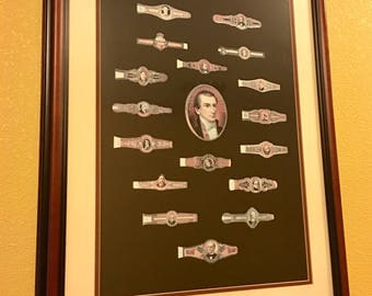 Cigar Ring Lithograph Print