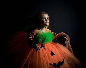 Pumpkin tutu dress Tutu