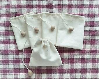 Premium ReusableTeabags/Muslin Bags/Drawstring Bags/Favor Bags