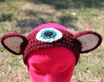 Third Eye Kitty Ears Headband