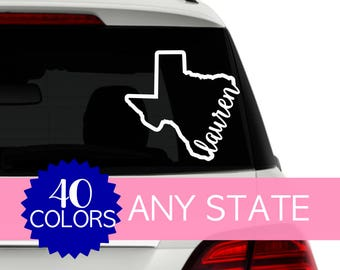 Car Window Decal Etsy - Custom car decals nz   how to personalize