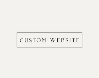 Web Design, Website design, Custom Website