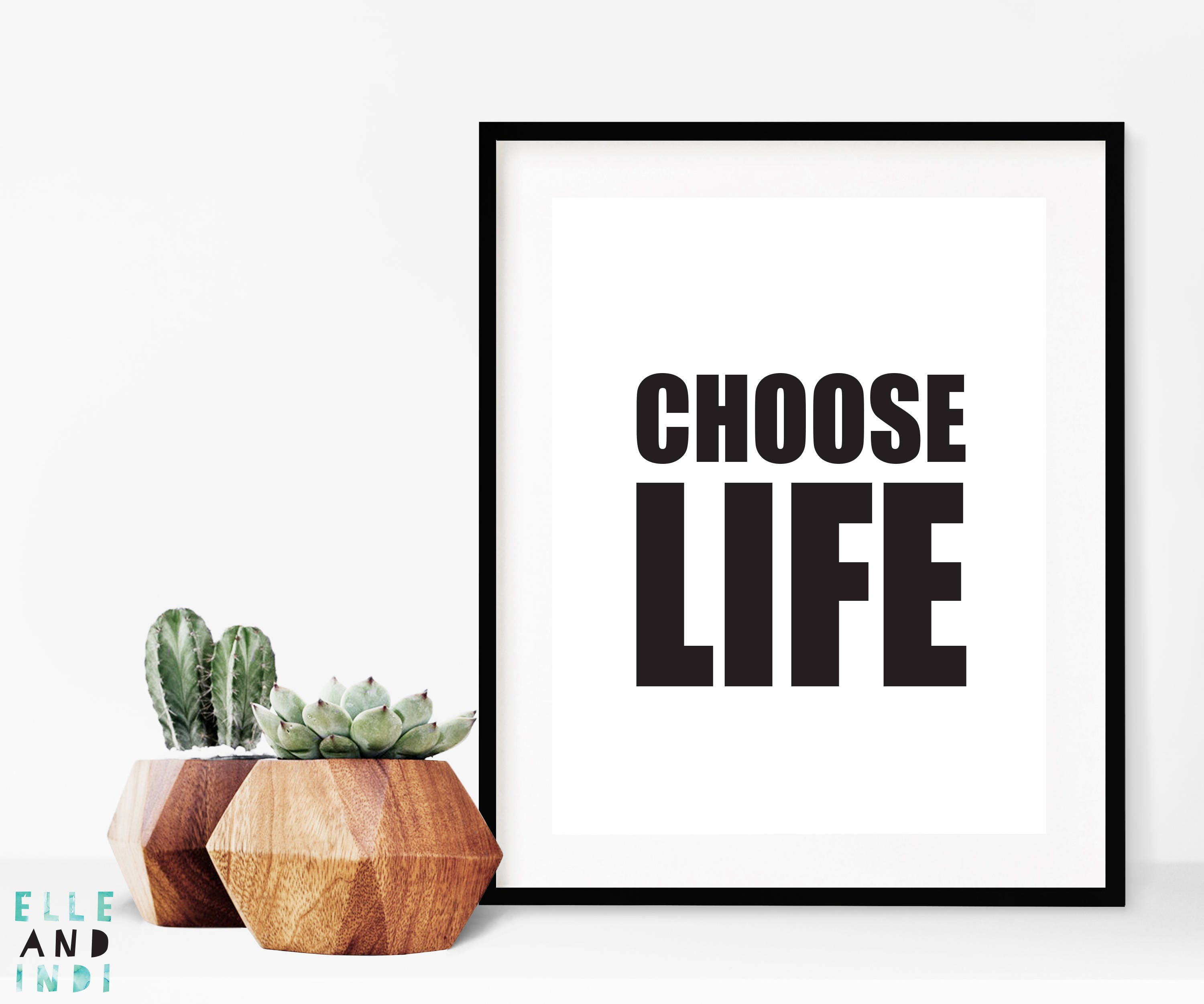 Choose Life // Trainspotting // 90s // Typography // Film
