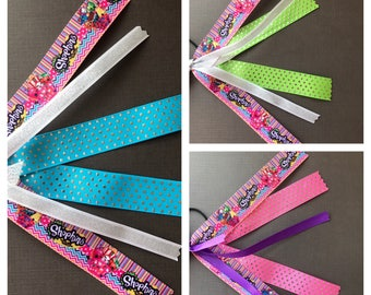 Shopkins Ribbon Ponytail Streamers