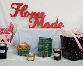Home Made small batch jams, Hand Cream, shrub, scrub