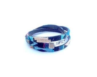 Ethnic woven bracelet