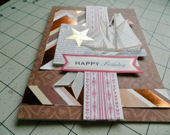 HANDMADE BIRTHDAY card for male