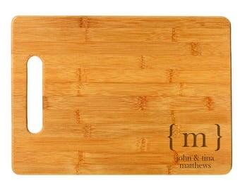 Initial Cutting Board