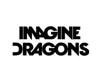 Imagine Dragons vinyl decal sticker