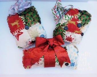 Primitive Present Ornament Bowlfiller Chrismas Decoration
