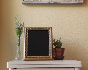 Elegant Gold Framed Chalkboard
