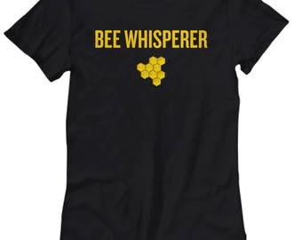 Beekeeper Gift - Apiarist Present Idea - Bee Whisperer - Honeycomb Women's Shirt