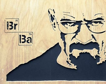 Breaking Bad Walter White Frame