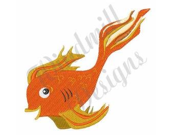 Goldfish - Machine Embroidery Design
