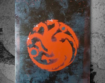 Custom Targaryen Spray Painting