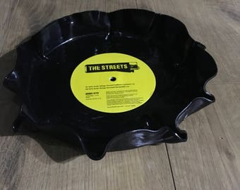 Vinyl record bowl - The Streets