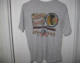 vintage 1992 Chicago Blackhawks hockey t-shirt