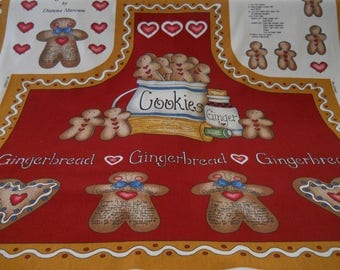 Grandma's Gingerbread Apron To Sew FromMarcus