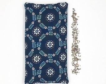 Lavender Eye Pillow - Relaxation Pillow, Yoga Eye Pillow, Lavender Yoga Pillow, LoadedBobbins