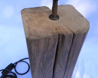Table Lamp 16th Century Solid English Oak