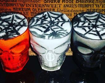 Drink The Wine Glass Bath Bomb | Goblet Glass | Halloween Bath Bomb | Gothic Bath Bomb | Skull Bath Bomb