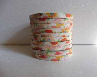 Washi tape decorated with vintage style 4 mm 10 m (Number 12)