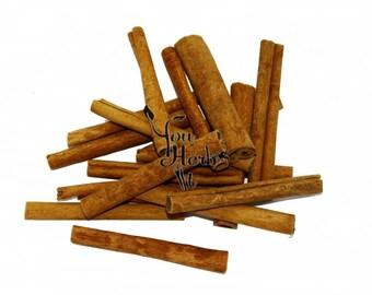 Cinnamon Sticks Cassia Quills 8cm (3.14 inches) - Cinnamomum Cassia