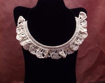 Ruffle Edge Necklace