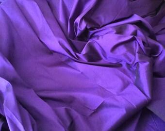 Taffetas fabric, purple