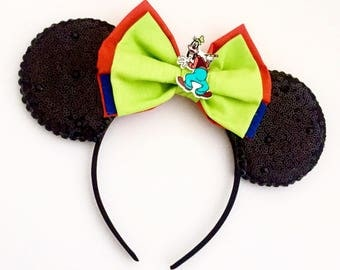 The Goof - Handmade Goofy Inspired Mouse Ears Headband