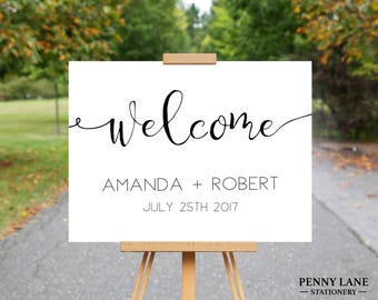 Wedding Welcome Sign, Wedding Welcome Sign Printable, Wedding Welcome Board, Wedding Welcome Poster, Wedding Posters, Welcome to our wedding