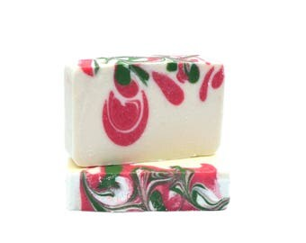 Cold PRocess Soap Bars - Cranberry Soap - Soap Gift - Artisan Soap - Luxury Soap - Natural Soap Bars - Soap Gift