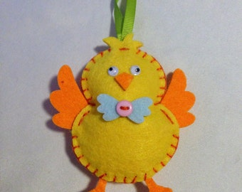 Spring Chick Easter Ornament