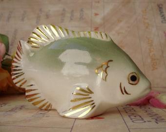 Vintage Royal Dux   porcelain fish figurne