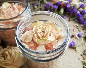 Rose Essential Oil  Himalayan Aromatherapy Bath Soak