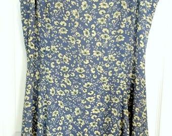 Vintage Liz Claiborne Fit-andFlare Dress Sz 10