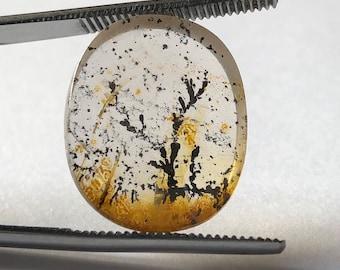 Dendrite Quartz, manganese and iron