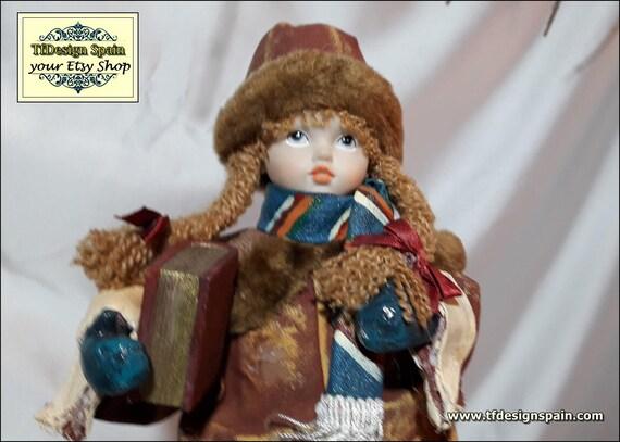 Vintage girl figure,Vintage girl Etsy,Vintage girl decor,Girl figurine with book,Figure girl vintage,Girl figurines collectible,School girl