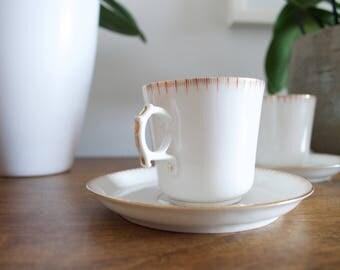 (2 x 2 cups) fine porcelain cups