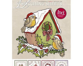 Book 8 3D pattern cards to embroider No. 27 sheets
