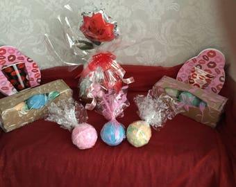3 jumbo bath bombs gift set