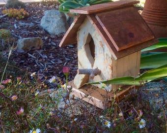 Birdhouse, Rustic Birdhouse, Handmade Birdhouse, Garden Birdhouse, Decorative Birdhouse, Personalized Birdhouse