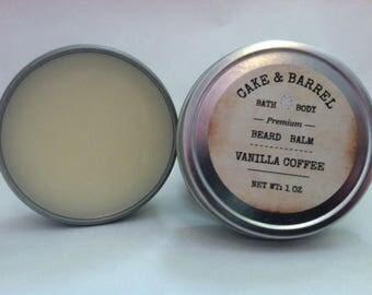 Vanilla Coffee Beard Balm. 1oz.