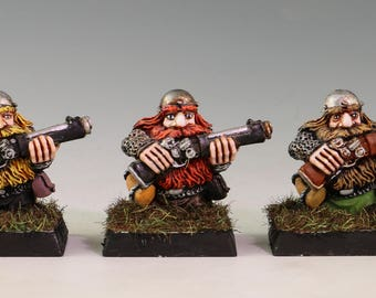Warhammer 40k Dwarf Thunderers by Games Workshop