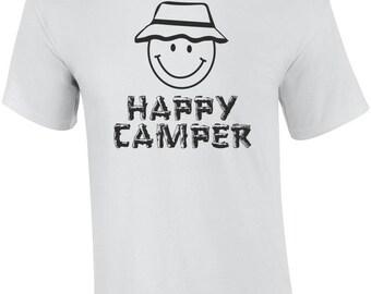 Happy Camper Funny Shirt