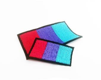 Androgyny Pride Flag, Androgyny Pride Flag Patch, Iron on Patch, Sew on Patch, Androgyny Pride Flag Pin