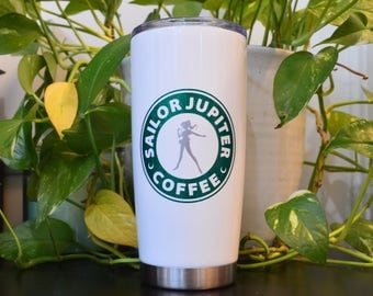 Sailor Jupiter Coffee Sailor Scout Sailor Moon Travel Stainless Mug