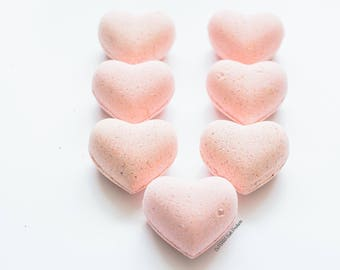 SunKissed Heart Bath Bombs