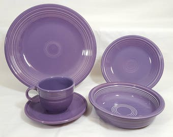 Fiesta Lilac 5 Piece Place Setting #2